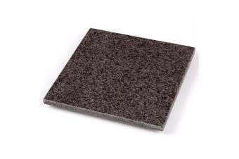 Creative Home 74844 Natural Stone Granite Square Trivet/Cheese Serving Board, 20cm , Grey