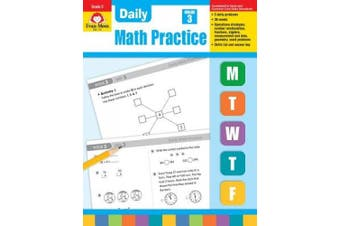 Daily Math Practice, Grade 3 (Daily Math Practice)