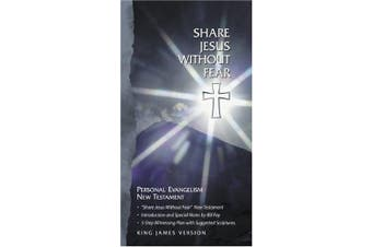 Bible Kjv New Testament: Share Jesus without Fear
