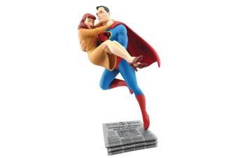 Cryptozoic Fleischer Studios' Superman Rescuing Lois Lane Statue