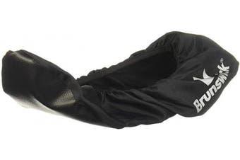 (Small) - Brunswick Shoe Shield Bowling Shoe Covers- Black