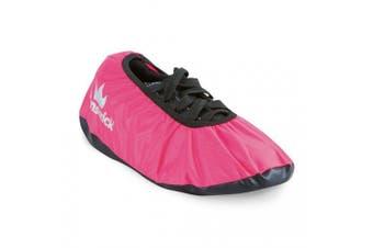 (Medium) - Brunswick Shoe Shield Bowling Shoe Covers- Pink