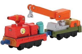 (Calley's Fire and Rescue Cars) - Learning Curve Diecast Chuggington Calley's Fire and Rescue Cars