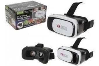 SLIDE FRONT DELUXE VIRTUAL REALITY GLASSES W/FOCUS ADJUST