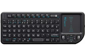 (Rii X1) - Rii K01X1 2.4 GHz Mini Wireless Keyboard with Mouse Touchpad Remote Control KODI XMBC Remote