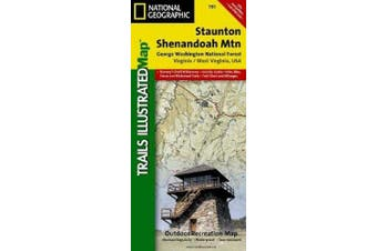 Staunton/Shenendoah Valley, George Washington National Forest: Trails Illustrated Other Rec. Areas