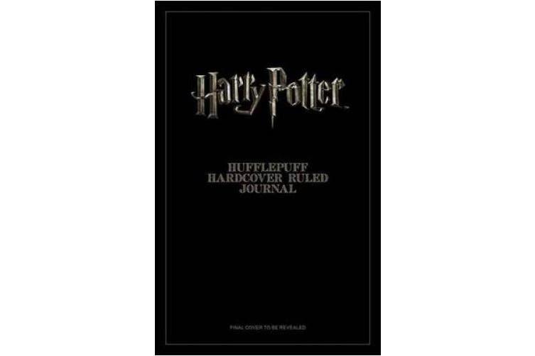 Harry Potter: Hufflepuff Ruled Pocket Journal (Insights Journals)