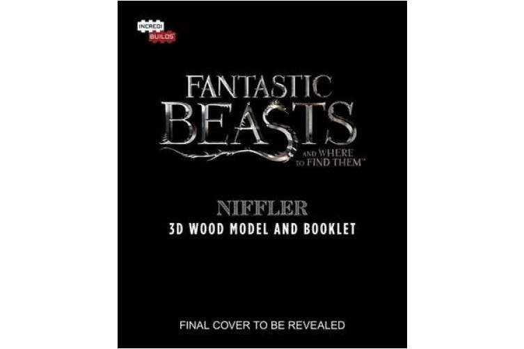 IncrediBuilds: Fantastic Beasts and Where to Find Them: Niffler 3D Wood Model and Booklet (Incredibuilds)