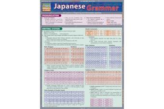 Japanese Grammar Laminate Reference Chart
