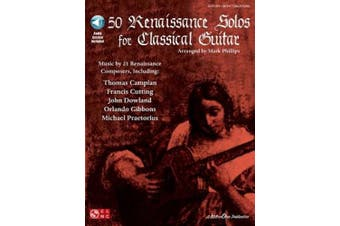 50 Renaissance Solos for Classical Guitar [With CD]