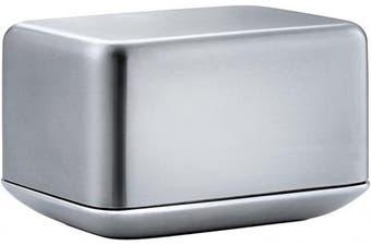 Blomus 63637 Matte Stainless Steel Butter Dish, Small Basicfür 125g Butter