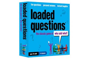 All Things Equal, Inc. LOADED QUESTIONS (The family and friends version of the classic game of 'who said what'!)