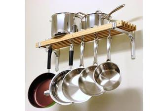 (1, 1) - Cooks Standard Wall Mount Pot Rack, 90cm by 20cm