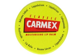 Carmex CLASSIC Moisturising Lip Balm Pot For Dry And Chapped Lips 7.5g