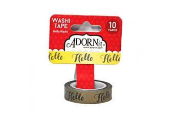 ADORNit Hello Washi Tape