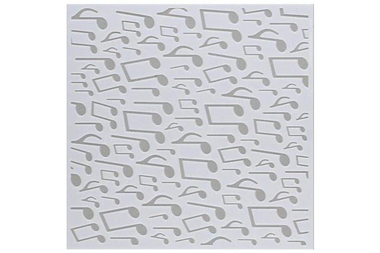 Echo Park Paper Company MA109035 Music Notes Stencil