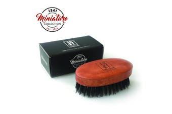 1541 London Travel Sized Beard Brush with Pure Black Bristle