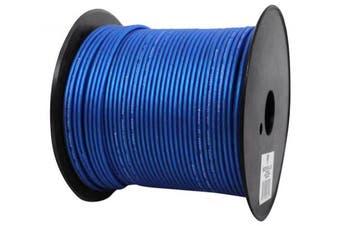 (14 gauge/200 foot, Blue) - Rockville R14GBLU200 Blue 14 Gauge 60m Mini Spool Car Audio Speaker Wire