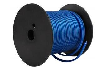 (14 gauge/100 foot, Blue) - Rockville R14GBLU100 Blue 14 Gauge 30m Mini Spool Car Audio Speaker Wire