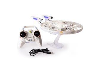 Air Hogs, Star Trek U.S.S Enterprise NCC-1701-A, Remote Control Vehicle with Lights and Sounds, 2.4 GHZ, 4 Channel