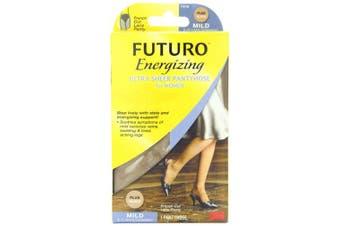 Futuro Ultra Sheer Pantyhose for Women, Nude, French Cut, Mild, (8-15 mm/Hg)