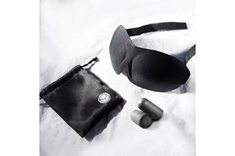 Best Sleep Mask for Women and Men. Contoured 3D Eye Mask Won't Rub Eyes. Complete Darkness-Relax & Meditate. Improve Sleep & Change Your Quality of Life. Anytime Blackout Curtains (TM) in Your Pocket.