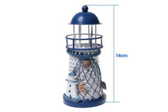 Kloud City ® Metal Handmade Craft Lighthouse Colour Changing LED Night Light Lamp