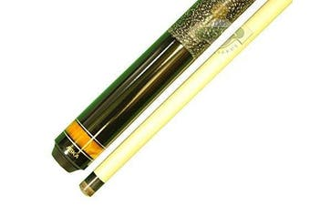(21-Ounce) - Aska Jump Break Cue Stick JBC Fireball, 3pc Cue, Jump/Break Cue. 13mm Tip, Hard Rock Canadian Maple