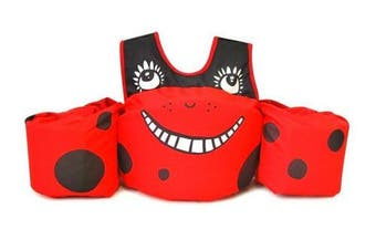(Ladybug Swim) - Body Glove Paddle Pals Learn to Swim Life Jacket - The Safest U.S. Coast Guard Approved Learn-to-Swim Aid