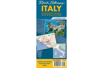 Rick Steves' Italy Planning Map: Including Rome, Florence, Venice & Siena City Maps