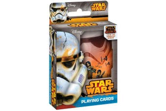 Star Wars Rebels Playing Cards in Collectible Tin