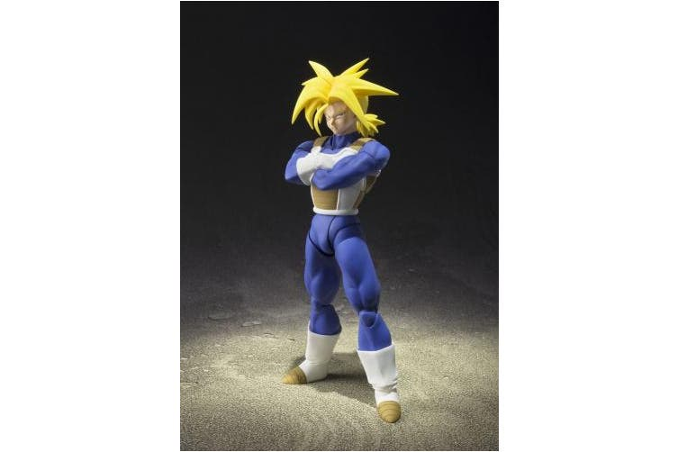 "Bandai Tamashii Nations 48671 ""Dragon Ball Z Super Saiyan Trunks Action Figures"