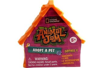 Animal Jam Adopt A Pet Series 1 Blind Bag House (Random Pet/Colour)
