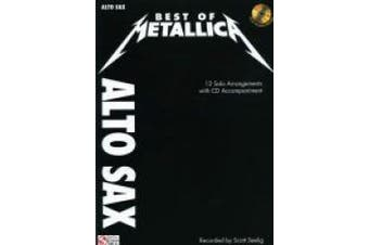 Best of Metallica for Alto Sax: 12 Solo Arrangements with CD Accompaniment