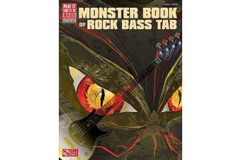 Monster Book of Rock Bass Tab (Play It Like It Is Bass)