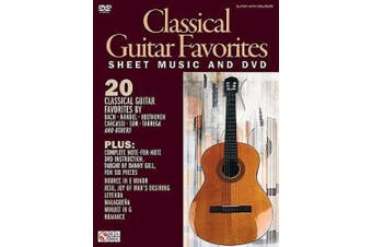 Danny Gill: Classical Guitar Favourites (Book/DVD)