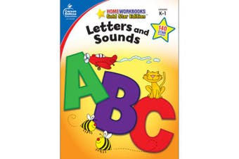 Letters and Sounds Grades K-1 (Home Workbooks: Gold Star Edition)