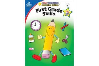First Grade Skills Grade 1 (Home Workbooks: Gold Star Edition)