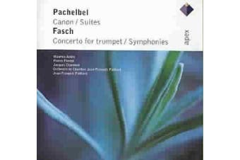 Fasch: Concerto In D Major For Trumpet 2 Oboes Strings & Continuo/Pachelbel: Can