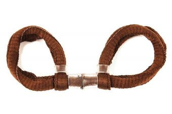 (CHOCOLATE BROWN, Single Loop) - ArrowSocks Delux Archery Finger Sling/Bow Sling for use with Recurve or Compound bows