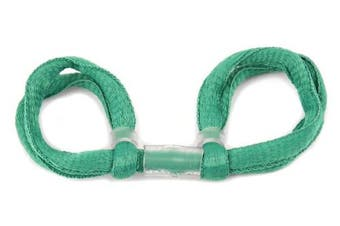 (Sea Green, Single Loop) - ArrowSocks Delux Archery Finger Sling/Bow Sling for use with Recurve or Compound bows