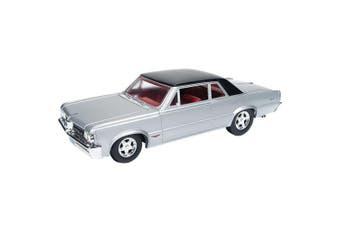 1964 Pontiac GTO, Silvermist Grey - Auto World AW24007 - 1/24 Scale Diecast Model Toy Car