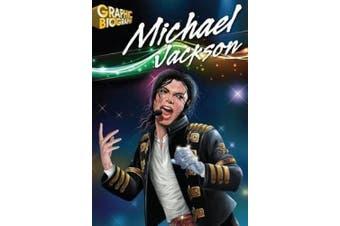 Saddleback Educational Publishing 9781616512651 Michael Jackson Graphic Biography