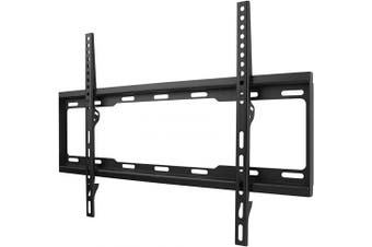 (FLAT, 32-84 inch) - One For All TV Bracket – Fixed Wall Mount – Screen size 32-210cm - For All types of TVs (LED LCD Plasma) – Max Weight 100kg – VESA 100x 100 to 600x 400 - Free Toolbox app – Black – Smart Line – WM2611