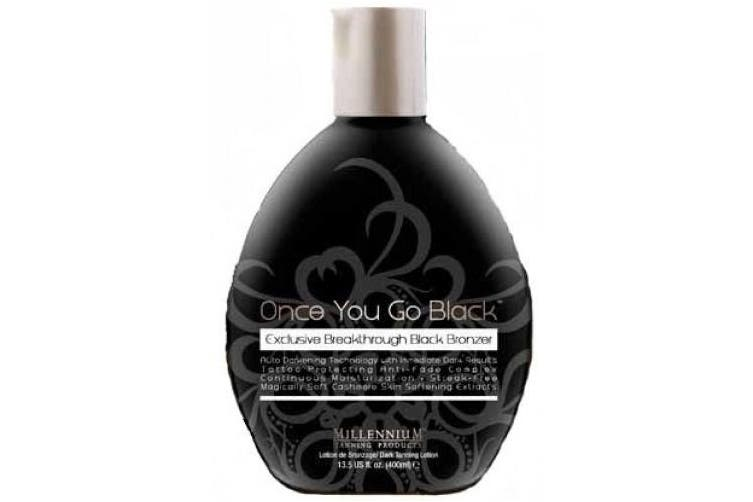 Once You Go Black Bronzer Tanning Lotion By Millennium 390ml