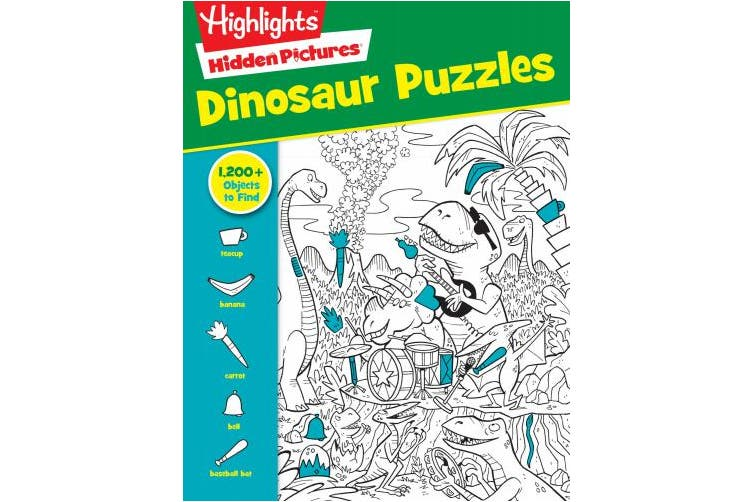 Highlights Favorite Hidden Pictures(r) Dinosaur Puzzles