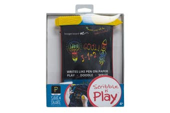 (Scribble Tablet) - Boogie Board Scribble and Play Colour LCD Writing Tablet + Stylus Smart Paper for Drawing eWriter Ages 3+