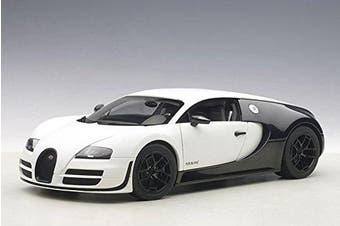 Bugatti Veyron Super Sport Pur Blanc Edition 1/18 by Autoart 70933