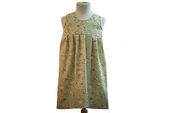 (Teen) - World Book Day-Victorian-Sound of Music-Von Trapp Family-Curtain Clothes VON TRAPP CURTAIN SMOCK - All Ages (Teen)