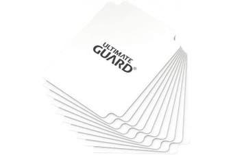 (White) - Ultimate Guard Card Dividers (Standard, White)